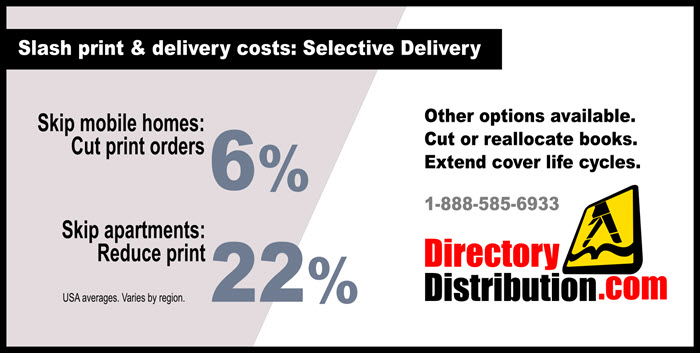 Slash print orders with targeted directory delivery!