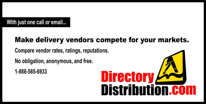 Make vendors compete for your markets!
