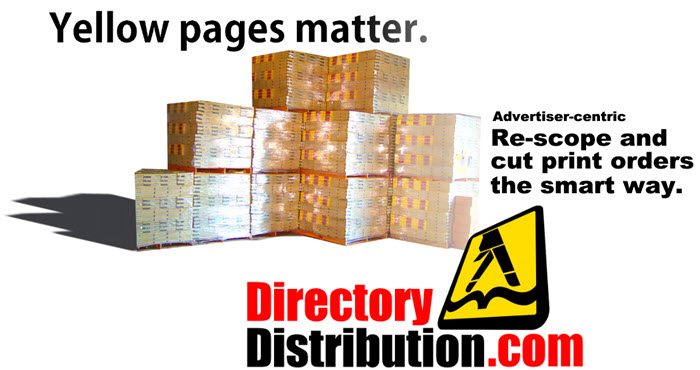 Advertiser-focused re-scoping: Cut yellow page printing and delivery costs the smart way.